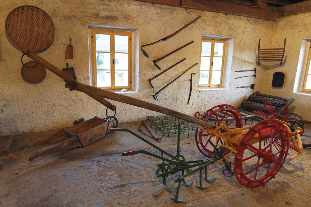 Museum collection of farming machinery and equipment